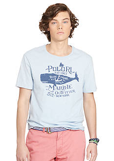 Polo Ralph Lauren Crew Neck Graphic T-Shirt