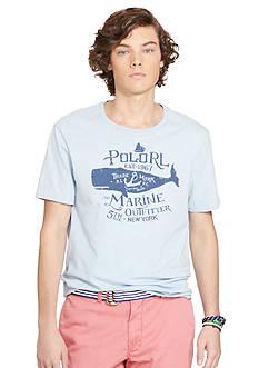 Polo Ralph Lauren Crew Neck Graphic T-Shirt