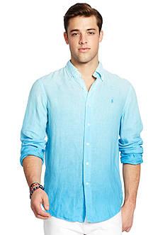 Polo Ralph Lauren Ombre Linen Sport Shirt