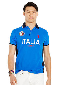 Polo Ralph Lauren Custom-Fit Italia Polo Shirt