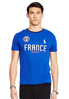 Polo Ralph Lauren Custom-Fit France Crew Neck Tee