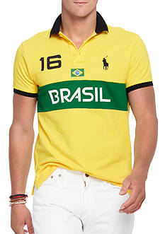 Polo Ralph Lauren Custom-Fit Brasil Polo Shirt