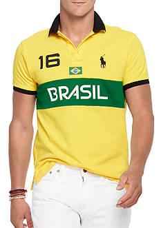 Polo Ralph Lauren Custom-Fit Brasil Polo Shirt
