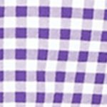 St Patricks Day Outfits For Men: Purple/White Polo Ralph Lauren Gingham Oxford Shirt