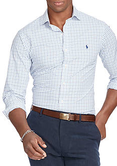 Polo Ralph Lauren Slim-Fit Tattersall Estate Shirt