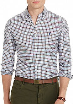 Polo Ralph Lauren Checked Twill Sport Shirt