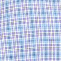 Mens Designer Shirts: Slate/Purple Multi Polo Ralph Lauren Plaid Poplin Shirt
