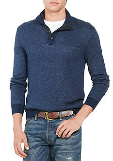 Polo Ralph Lauren Tussah Silk Half-Zip Sweater