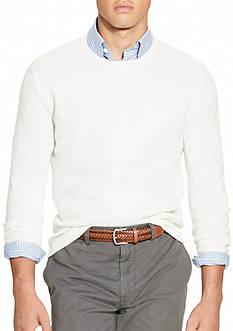 Polo Ralph Lauren Linen-Cashmere Crewneck Sweater
