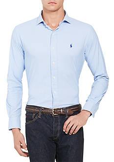 Polo Ralph Lauren Glen Plaid Stretch Performance Estate Shirt