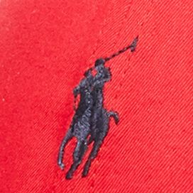 Polo Ralph Lauren Accessories: Rl2000 Red Polo Ralph Lauren Cotton-Blend Baseline Cap