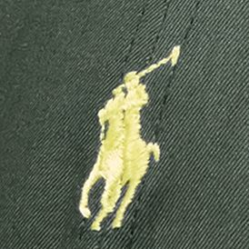 Polo Ralph Lauren Accessories: Alpine Green Polo Ralph Lauren Cotton-Blend Baseline Cap
