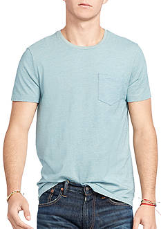 Polo Ralph Lauren Indigo Cotton Jersey T-Shirt