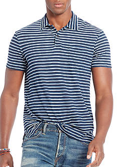 Polo Ralph Lauren Custom-Fit Indigo Jersey Polo Shirt