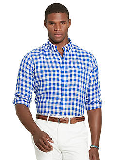 Polo Ralph Lauren Gingham Linen Shirt