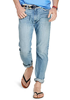 Polo Ralph Lauren Thompson Relaxed-Fit Eldon-Wash Jeans