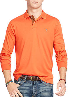 Polo Ralph Lauren Long-Sleeve Pima Soft-Touch Polo Shirt