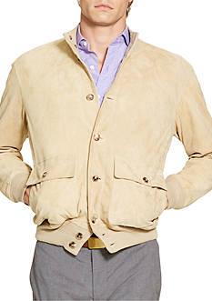 Polo Ralph Lauren Suede Skeet Jacket