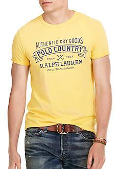 Polo Ralph Lauren Custom-Fit Graphic T-Shirt