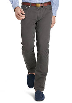 Polo Ralph Lauren Hampton Straight-Fit 5-Pocket Pants