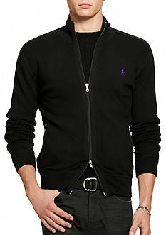 Polo Ralph Lauren Pima-Blend Full-Zip Sweater
