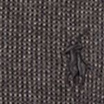 Mens Winter Sweaters: Gray Polo Ralph Lauren Pima Cotton Crewneck Sweater