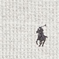 Men: Polo Ralph Lauren Sweaters & Pullovers: Twist Heather Polo Ralph Lauren Waffle-Knit Cotton Hoodie