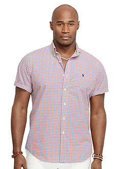 Polo Ralph Lauren Big & Tall Short-Sleeve Checked Shirt