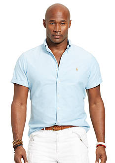 Polo Ralph Lauren Big & Tall Short-Sleeved Oxford Shirt