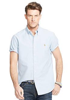 Polo Ralph Lauren Big & Tall Short-Sleeve Oxford Shirt