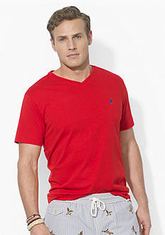 Polo Ralph Lauren Big & Tall Jersey V-Neckline Tee