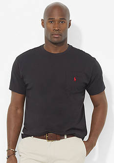 Polo Ralph Lauren Big & Tall Classic-Fit Pocket Crewneck T-Shirt