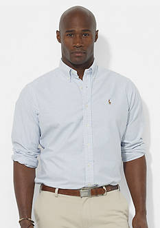 Polo Ralph Lauren Big & Tall Classic-Fit Stripe Oxford Shirt