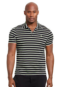 Polo Ralph Lauren Big & Tall Striped Performance Lisle Polo Shirt