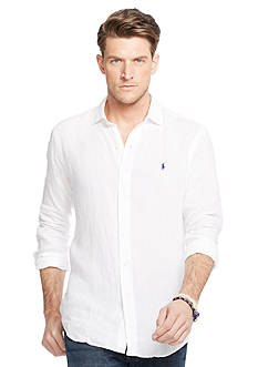 Polo Ralph Lauren Big & Tall Linen Estate Shirt