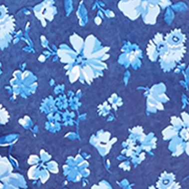 Polo Ralph Lauren Swimwear: Blue Tonal Chilmark Floral Polo Ralph Lauren TRAVLER NVY CHILMARK FLRL