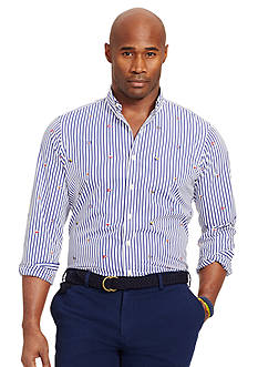 Polo Ralph Lauren Big & Tall Striped Nautical Shirt