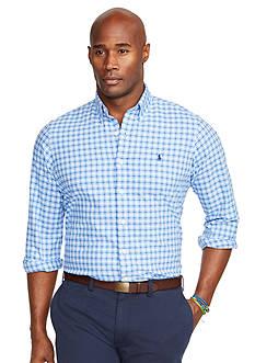 Polo Ralph Lauren Big & Tall Tattersall Oxford Shirt