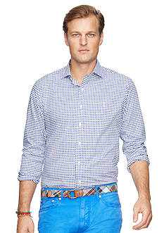 Polo Ralph Lauren Big & Tall Checked Twill Estate Shirt