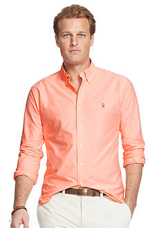 Polo Ralph Lauren Big & Tall Stretch-Oxford Shirt