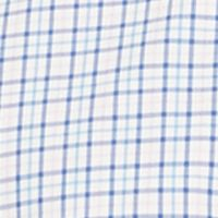 Mens Big and Tall Casual Shirts: Check & Plaid: Rose/Blue Multi Polo Ralph Lauren Big & Tall Checked Poplin Shirt