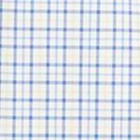 Mens Big and Tall Casual Shirts: Check & Plaid: Yellow/Blue Multi Polo Ralph Lauren Big & Tall Checked Poplin Shirt