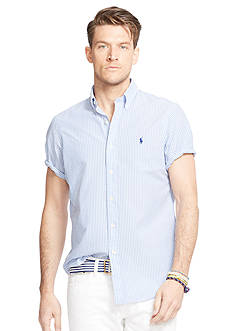 Polo Ralph Lauren Big & Tall Seersucker Short Sleeve Shirt