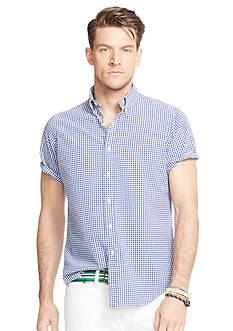 Polo Ralph Lauren Big & Tall Seersucker Short Sleeve Shirt