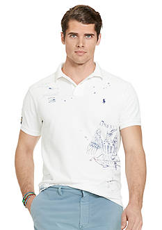 Polo Ralph Lauren Big & Tall Classic-Fit Graphic Polo Shirt