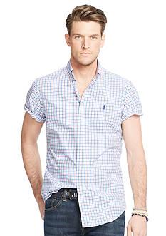 Polo Ralph Lauren Big & Tall Tattersall Short Sleeve Shirt