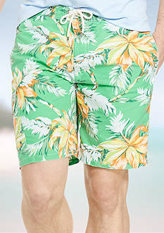 Polo Ralph Lauren Big & Tall Tropical Kailua Swim Trunks