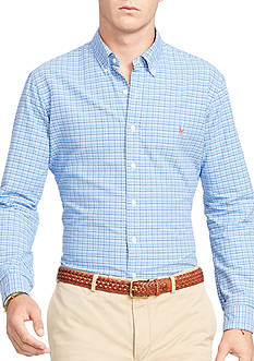 Polo Ralph Lauren Big & Tall Checked Oxford Shirt