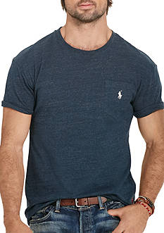 Polo Ralph Lauren Big & Tall Classic-Fit Jersey Pocket Crew Neck Tee