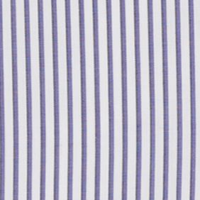 Mens Designer Dress Shirts: Purple/White Polo Ralph Lauren HB BD PURP STRIPE
